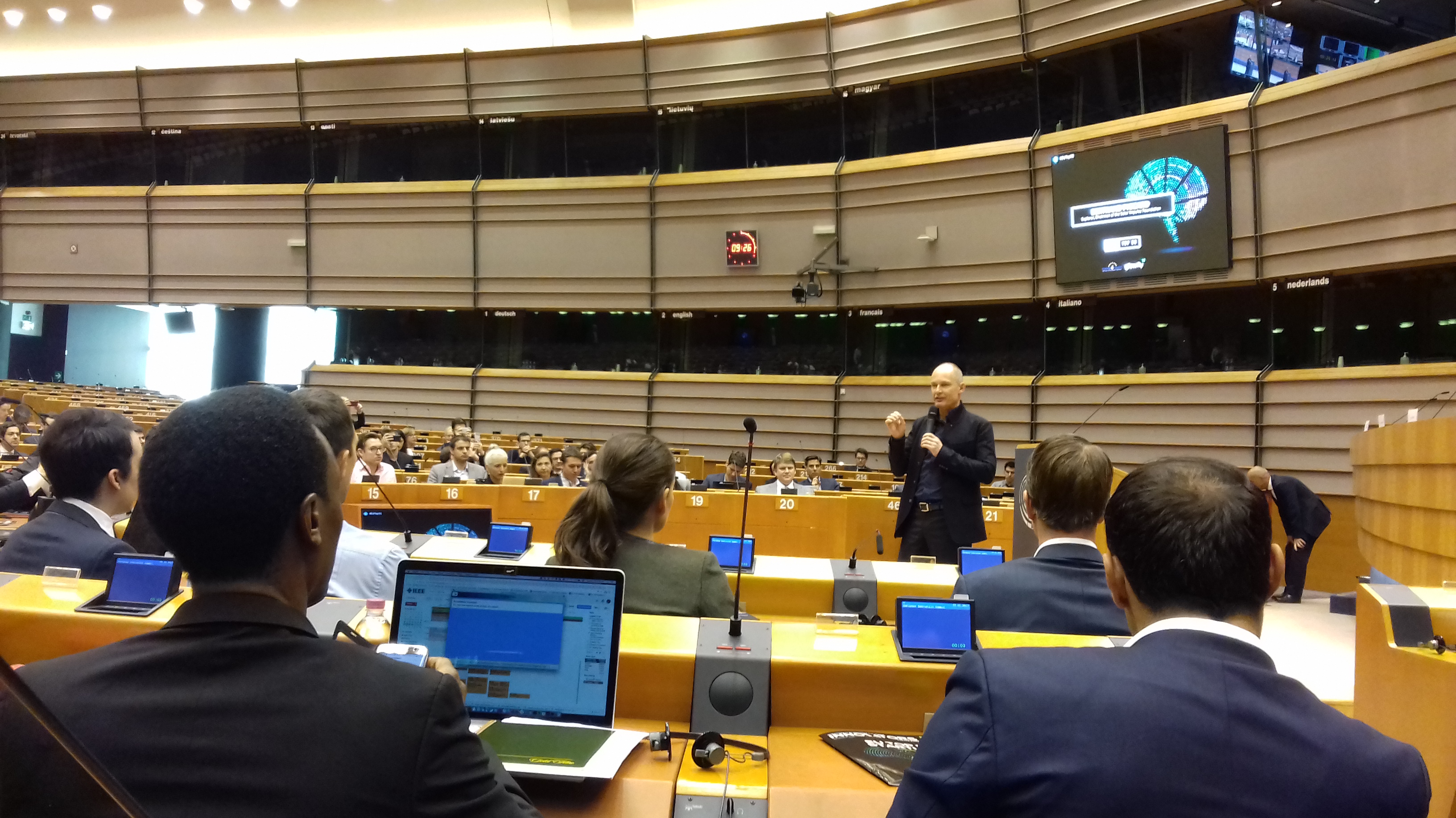 With K4I at the 9th EIS in Brussels