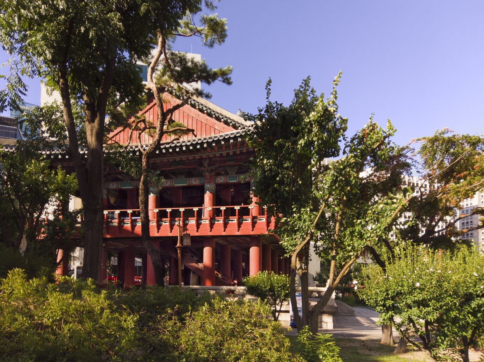 The great bell tower of Bosingak