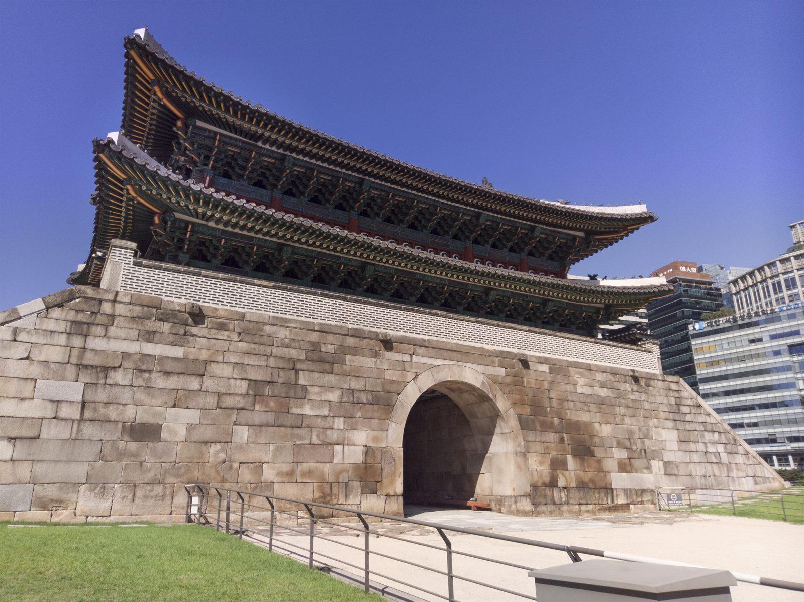 Inside SungNyemun Gate